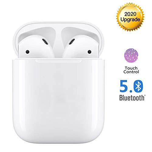Kopfhörer Kabellos Bluetooth Kopfhörer Noise Cancelling Kopfhörer für immersiven Klang mit 24H Ladekästchen und Mikrofon für Android/iPhone/Samsung/Airpods in Ear kopfhörer Bluetooth kopfhörer iPhone