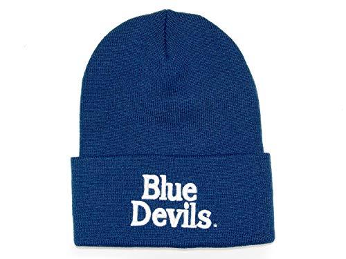 Mitchell and Ness NCAA Team Duke Blue Devils Beanie Knit, Blu marino