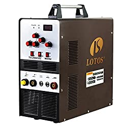 Lotos TIG200ACDC 200A AC/DC Aluminum Tig Welder with DC Stick/Arc Welder