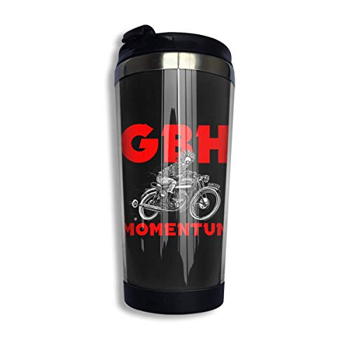 Charged GBH Perfume Piss Coffee Cups Stainless Steel Water Bottle Cup Travel Mug Coffee Tumbler with Spill Proof Lid