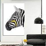 hetingyue Erstaunliche Schwarz-Weiß-Zebra Leinwand