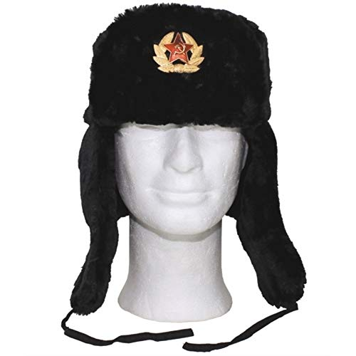 russian army style winter cap
