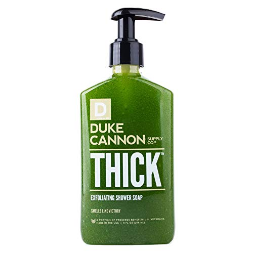 Duke Cannon THICK Exfoliating Shower Soap for Men, 9 fl oz - Victory