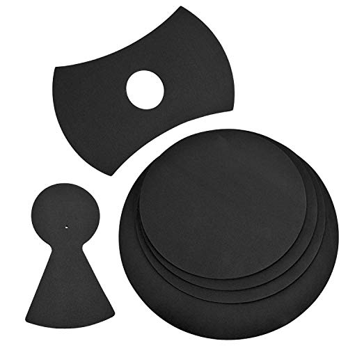 4 Pack Drum Mutes, 12,13,14,16' Drum Silencers (4 Pack with Cymbal + Hi hats)