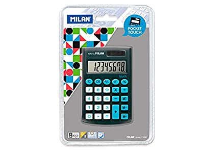 Milan 150908KBL - Calculadora, color negro