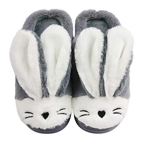 Women Memory Foam Cozy Bunny Slippers