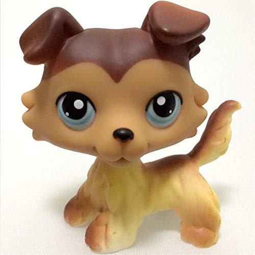 JKDC Pet Shop Toy LPS Cat Rare Pet Shop Juguetes Stands Pelo Corto GatoHusky Perro Original...