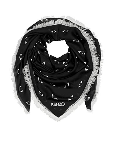 Kenzo Luxury Fashion Damen F958EW440PFH99 Schwarz Foulard |