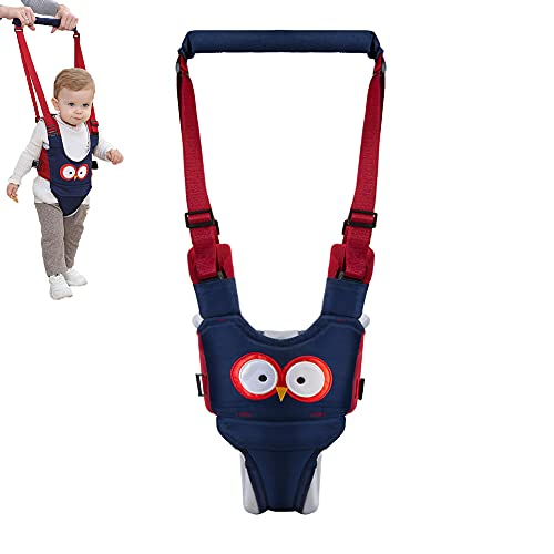Baby Walking Harness Baby Walker - Adjustable Safety Harnesses, Pulling and Lifting Dual Use 7-24 Month Breathable Stand Up & Walking Learning Helper for Infant Child Activity