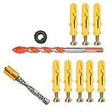 Herramienta de hardware Destornillador Bit Set Hex Shank Magnetic Drill para decoración, muebles, Electrónica