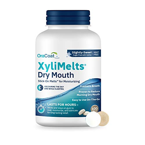 OraCoat XyliMelts Dry Mouth Relief Oral Adhering Discs