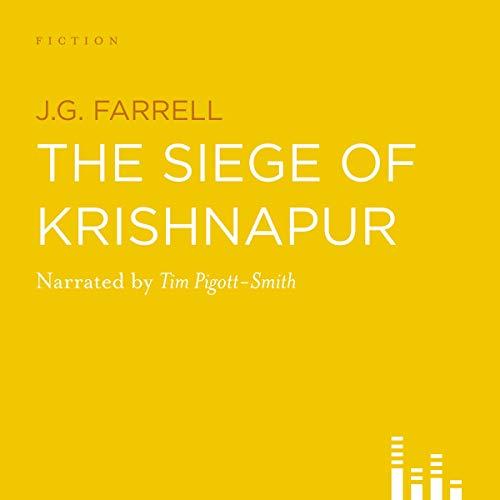 The Siege of Krishnapur cover art