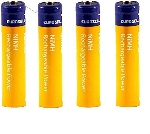 TronicXL 950mAh Akku AAA Akkus Batterie batterien kompatibel mit für Telefon Telekom Sinus PA206 PA300 PA300i PA301 PA301i PA302 PA302i 501i 502i A302i A502i CA33 CA-33 Plus 1 Duo CA34 CA-34 Ersatz