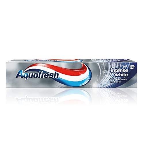 Aquafresh Dentifricio Intense White - Pacco da 12 x 75 ml
