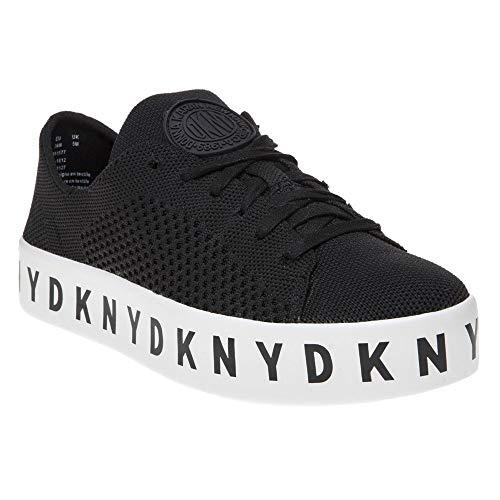 DKNY Banson Lace Up Damen Sneaker Schwarz