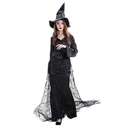 Gotica gotico Adulto Bruja Halloween Esqueleto Mujer Disfraz Bruja Halloween Mujer Bruja Disfraz Calabaza Diabla Disney Disfraz Halloween Mujer Esqueleto Monja Sexy Halloween