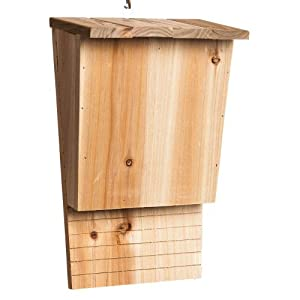 Gifted Living Wood Hanging Bat House