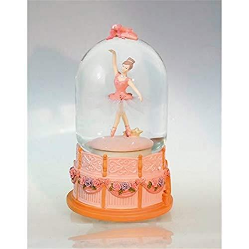 Musicbox Kingdom 15038 muziekspeelhorloge ballerina-koepel draait naar een melodie