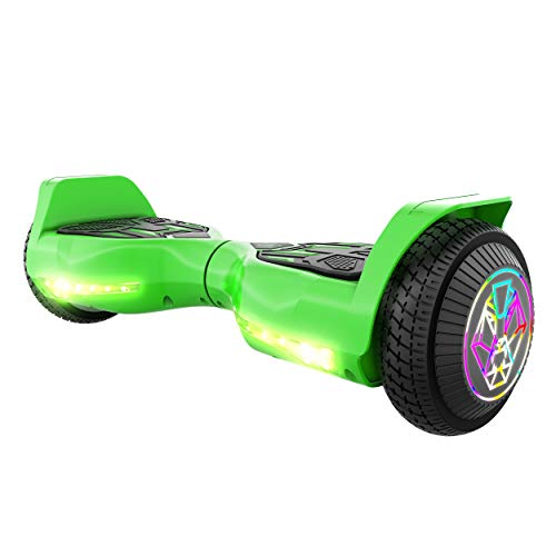 Swagtron Swagboard Twist Self Balancing Hoverboard for Kids (Green)