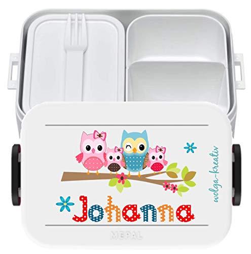 wolga-kreativ Brotdose Lunchbox Bento...