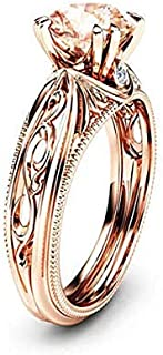 Fashion Ring for Women, Size 8 - Golden color