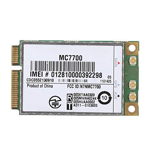 Tarjeta de Red 4G, MC7700 PCI-E 100Mbps 3G / 4G LTE FDD Módulo inalámbrico Integrado para Windows/Linux