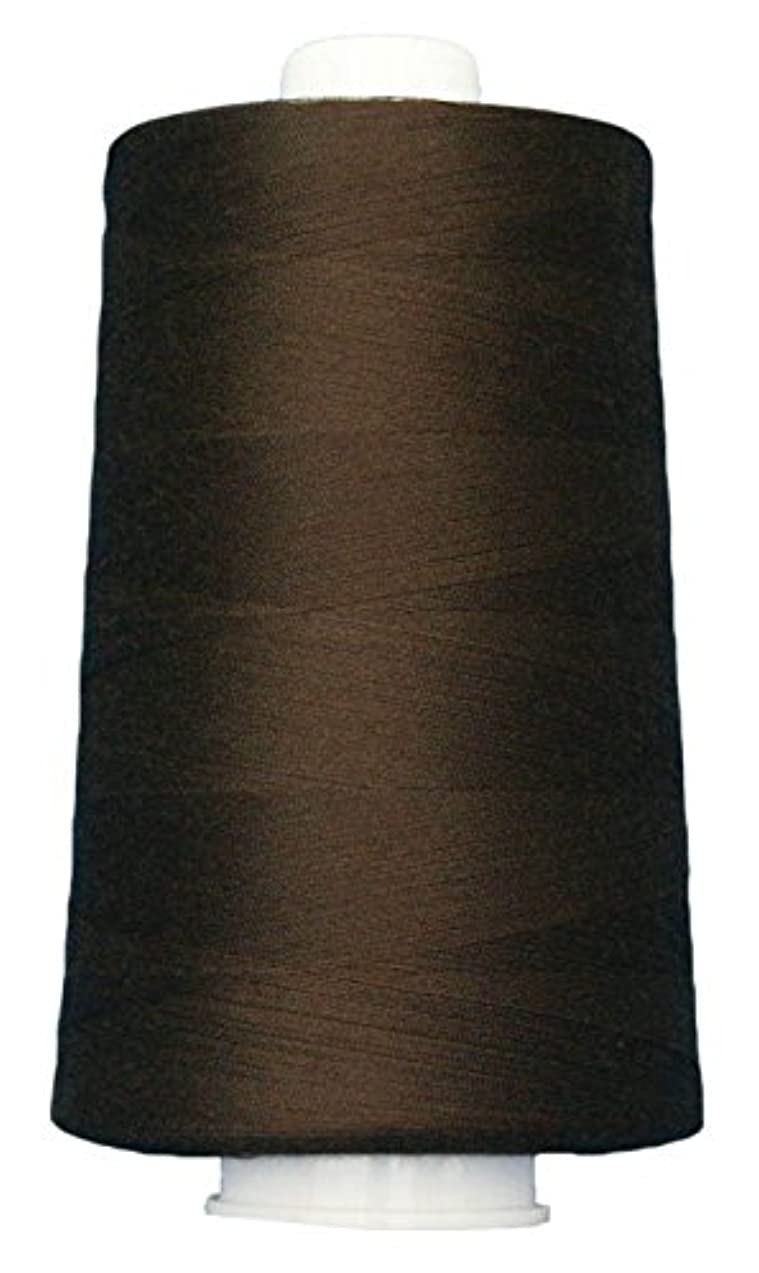Superior Threads 13402-3038QC Omni 40W Polyester Thread, 6000 yd, Black Walnut