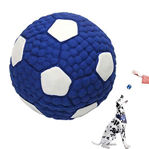 Quietschendes Hundespielzeug aus Latex,Premium Hundeball aus Naturkautschuk - Spielzeug zum Spielen und zum Training- 6,5cm Ø inkl für kleine mittlere Hunde