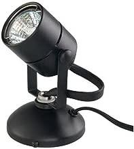 Good Earth Lighting Micro Halogen Spotlight - 2,000 Hours Lamp Life - Black