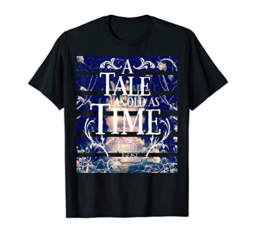Disney Beauty & The Beast Tale Old As Time Graphic T-Shirt