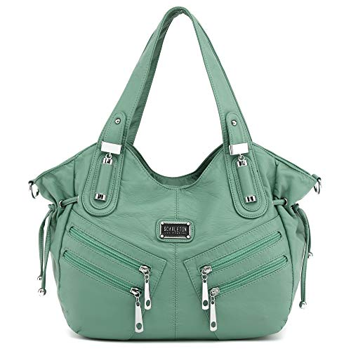 Scarleton Satchel Handbag for Women, Purses for Women, Shoulder Bag for Women, Handbag for Women, H147653 - Green