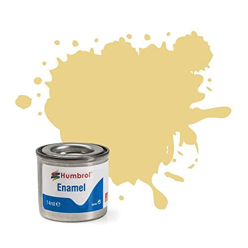 Humbrol, lattina di Vernice a Smalto, Barattolo da 14 ml, n. 1, Colore 103, Crema Opaca