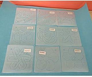 YICBOR - Plantillas de 12 x 12 cm para colcha de patchwork, herramientas de engaste