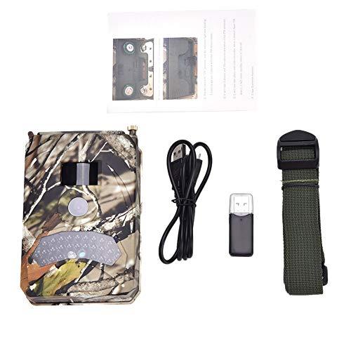 Wolfgo Trail Camera - 1080P HD Cámara infrarroja de video de caza nocturna infrarroja a prueba de agua para vida salvaje al aire libre