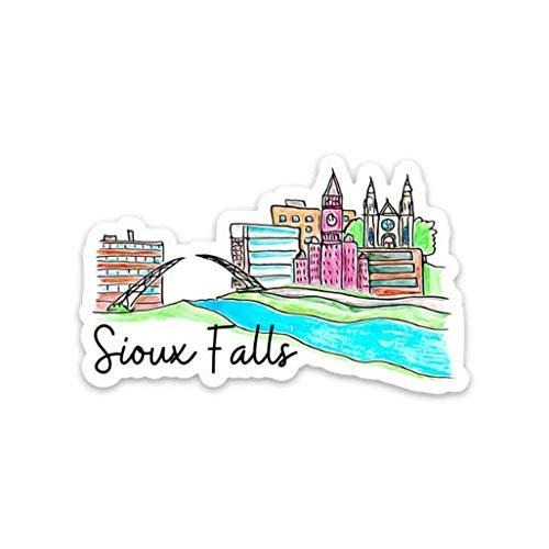 Sioux Falls, South Dakota Sticker