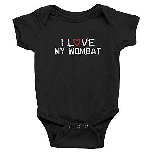 Teeburon I Love my Wombat Body de bebé