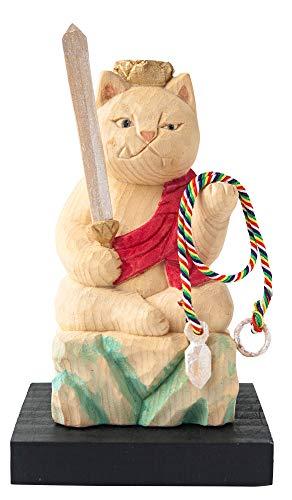 猫buddha 不動明王(酉年の守護本尊) 仏屋さかい原型監修_十二支守り本尊 イSム 仏像ワールド(NB8ふどう
