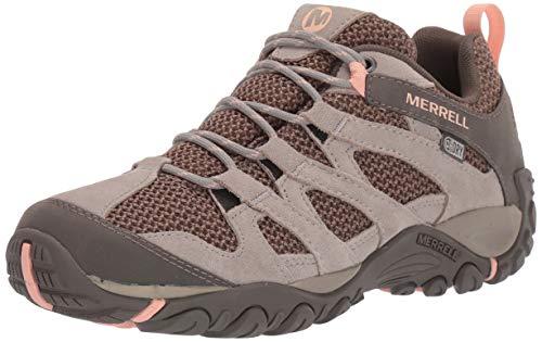 Merrell Women's ALVERSTONE WP Hiking Boot, ALUMINUM, 9.5 M