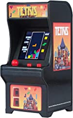 The iconic arcade game of the 80's is back, in miniature size! Screen size is 1.5 inches with an overall cabinet size of 3.75 x 1.75 x 1.75, each Tiny Arcade is a working, miniature version of the original full-size arcade Complete gameplay includes ...