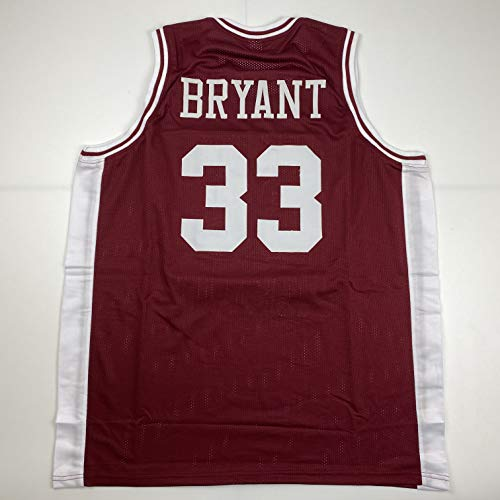 Unsigned Kobe Bryant Lower Merion Maroon Custom Stitched High School Basketball Jersey Size Men's XL New No Brands/Logos