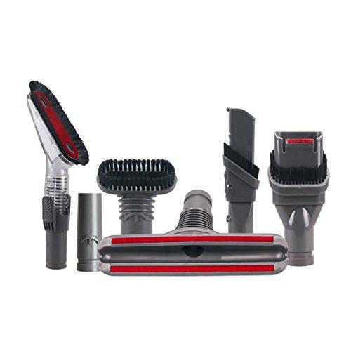 Tekehom Lot de 6 Home Nettoyage à outils kit de pièces pour aspirateurs Dyson Accessoires Handheld V6 DC16 DC31 DC33 DC34 DC35 Dc56 Dc58 DC59 Dc61 DC62 Dc72 Animal