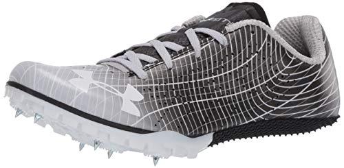 Under Armour Kick Sprint 3 Running Shoe, Black (001)/White, 10