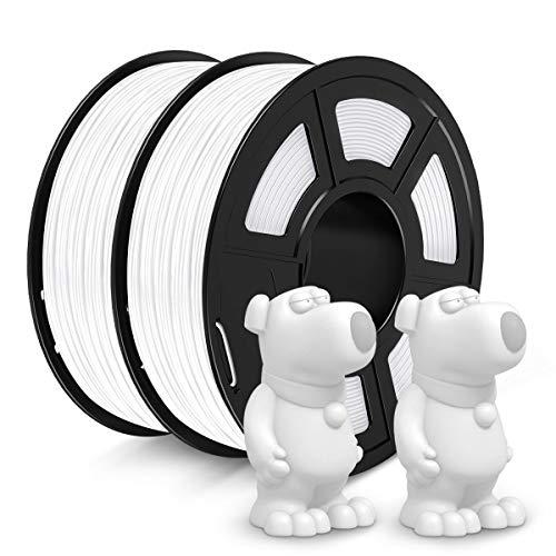 Filamento Jayo PETG de 1,75 mm, bobina de 2 kg (2 libras) Filamento para impresora 3D PETG,...