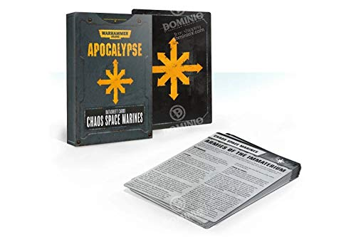 Warhammer 40K: Apocalypse Datasheets - Chaos Space Marines