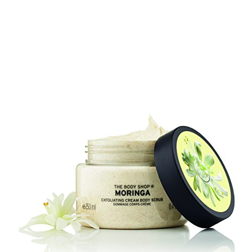 The Body Shop Body Scrub Moringa, 1er Pack (1 x 250 ml)