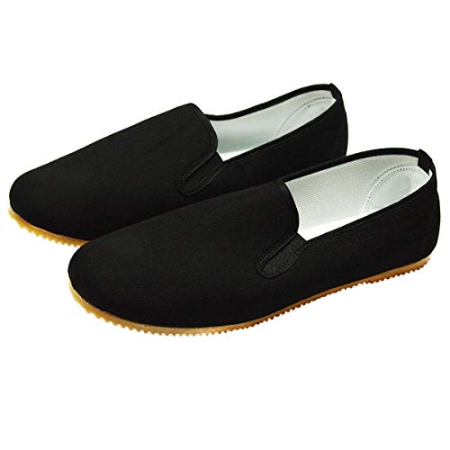 DerShogun Kung Fu Schuhe mit Heller Gummisohle Größe 43