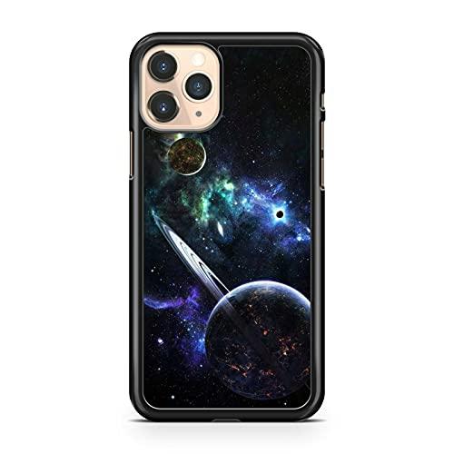 Delightful Cool Planet Saturn Milky Way Galaxy Space - Carcasa para teléfono móvil Sony Xperia XZ3