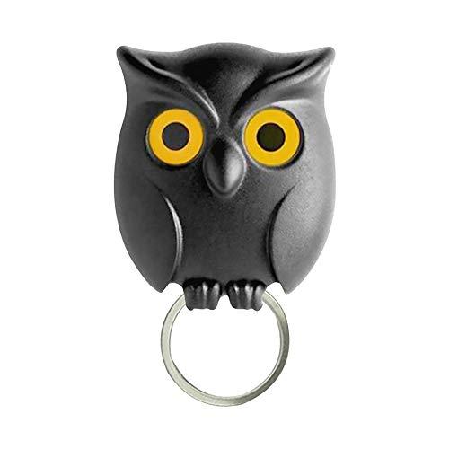 WEIHUIMEI Night Owl Schlüsselanhänger Halter Cool Home Decor. Ungewöhnliche Wanddekoration. Einzigartiges Geschenk für Home-Office-Dekoration