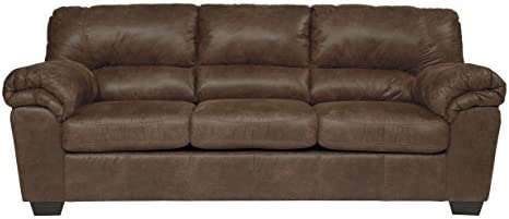 Best Signature Design by Ashley - Bladen Contemporary Plush Upholstered Sofa, Coffee Brown