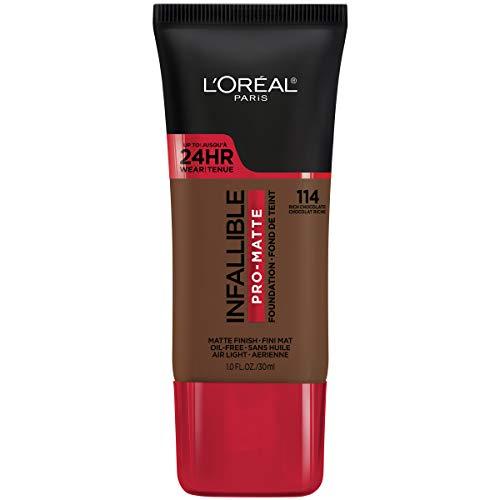 L'Oreal Paris Makeup Infallible Pro-Matte Liquid Longwear Foundation, True Porcelain 099, 1 fl; oz.